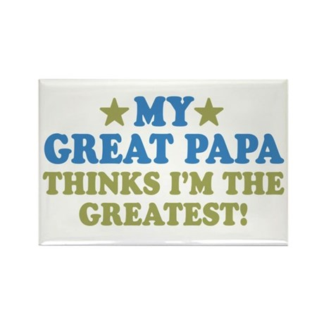 My Great Papa Rectangle Magnet