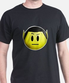 ST: Spock Smiley T-Shirt