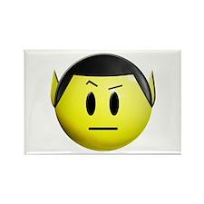 ST: Spock Smiley Rectangle Magnet (100 pack)