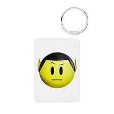 ST: Spock Smiley Keychains