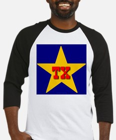 TX Star Monogram Baseball Jersey