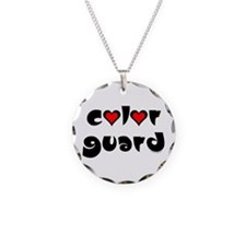 Color Guard Hearts Necklace