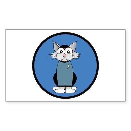 ST: Meow Trek2 Sticker (Rectangle 10 pk)