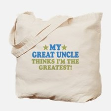 My Great Uncle Tote Bag
