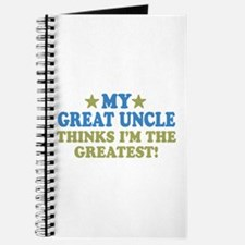 My Great Uncle Journal