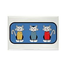 ST: Meow Trek5 Rectangle Magnet (10 pack)