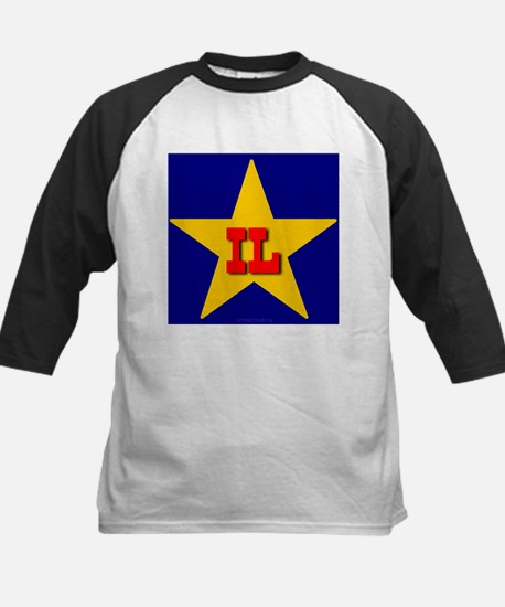 IL Star Monogram Kids Baseball Jersey