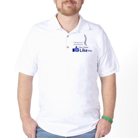 CHIROPRACTIC ADJUSTMENTS Golf Shirt