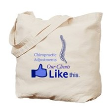 CHIROPRACTIC ADJUSTMENTS Tote Bag