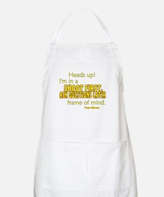 NCIS Quote: Shoot First Apron
