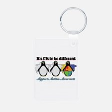 Okay To Be Different Autism Keychains
