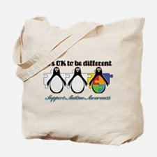 Okay To Be Different Autism Tote Bag