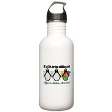 Okay To Be Different Autism Water Bottle