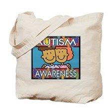 Cute Autism Awareness Tote Bag
