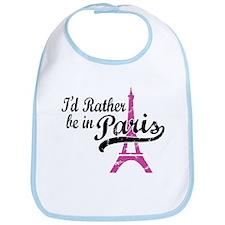 I'd Rather Be In Paris Bib