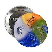 "Kokopelli Elemental Power 2.25"" Button (10 pack)"