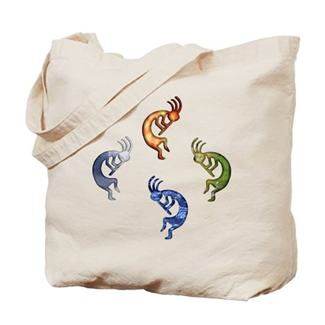 Kokopelli Elemental Power Tote Bag
