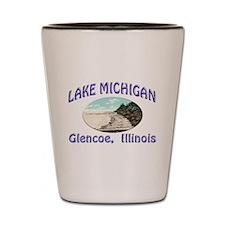 Lake Michigan Shot Glass