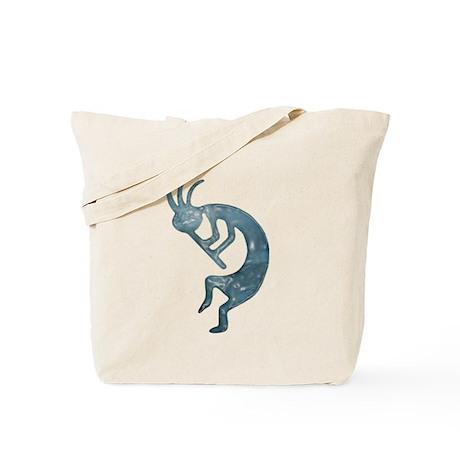 Kokopelli Elemental (Ice) Tote Bag