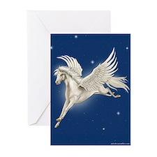 Pegasus In Flight Greeting Cards (Pk of 10)