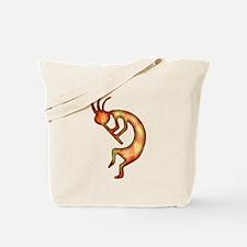 Kokopelli Elemental (Fire) Tote Bag