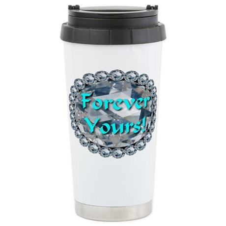 Forever Yours Stainless Steel Travel Mug