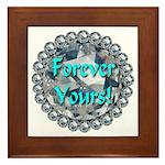 Forever Yours Framed Tile