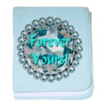 Forever Yours baby blanket
