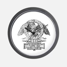 CANE SPQR Eagle Wall Clock