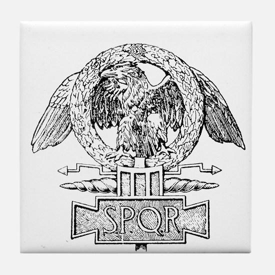 CANE SPQR Eagle Tile Coaster