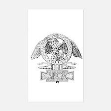 CANE SPQR Eagle Sticker (Rectangle)