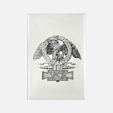 CANE SPQR Eagle Rectangle Magnet