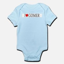 I Love Gomer Infant Creeper