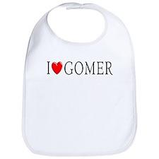 I Love Gomer Bib
