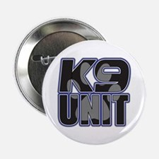 "Police K9 Unit Paw 2.25"" Button"