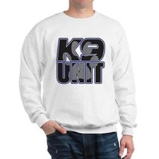 Police K9 Unit Paw Sweatshirt