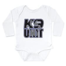Police K9 Unit Paw Onesie Romper Suit