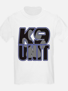 Police K9 Unit Paw T-Shirt