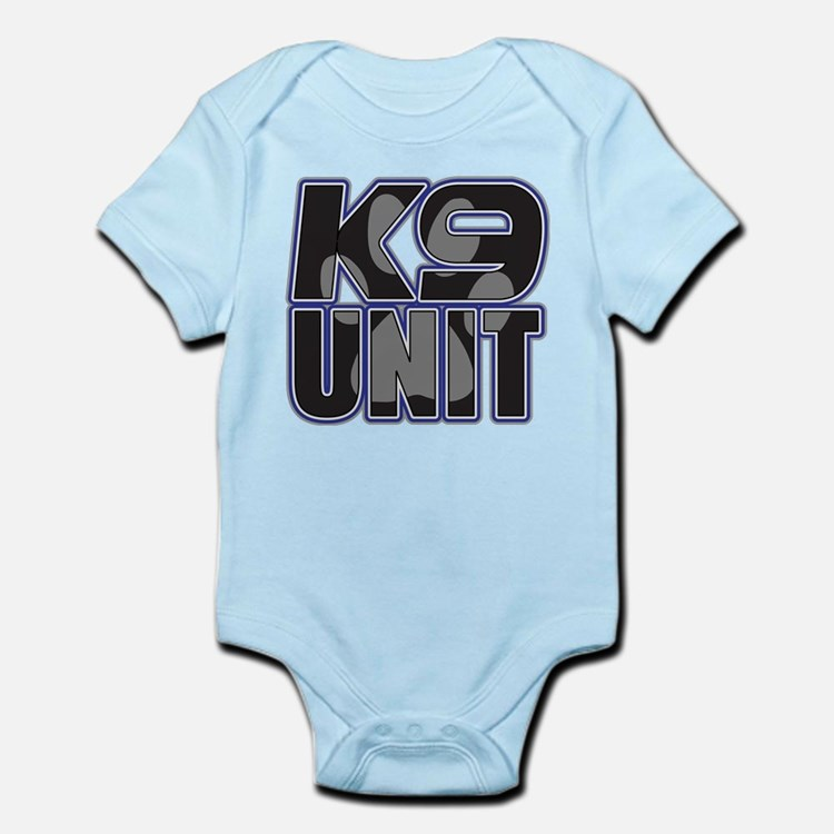 Police K9 Unit Paw Infant Bodysuit
