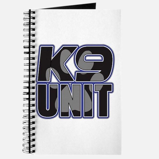 Police K9 Unit Paw Journal