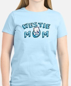 KiniArt Westie Mom T-Shirt