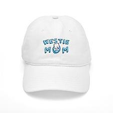 KiniArt Westie Mom Baseball Cap
