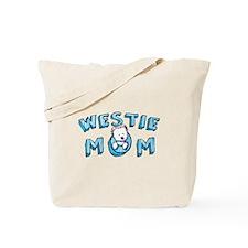 KiniArt Westie Mom Tote Bag