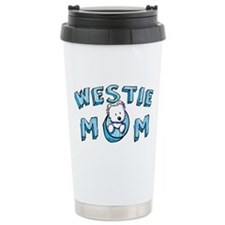 KiniArt Westie Mom Travel Mug