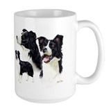 Border collie Coffee Mugs