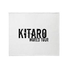 Kitaro World Tour Throw Blanket