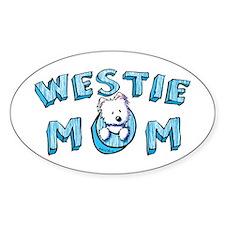 KiniArt Westie Mom Decal