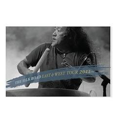 Kitaro Tour 2011 Postcards 4 (Package of 8)
