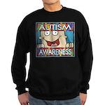 Funny Autism Awareness Sweatshirt (dark)