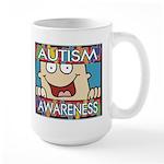 Funny Autism Awareness Large Mug